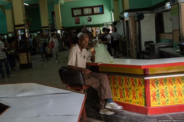 Кубинское счастье – была б еда на полке...