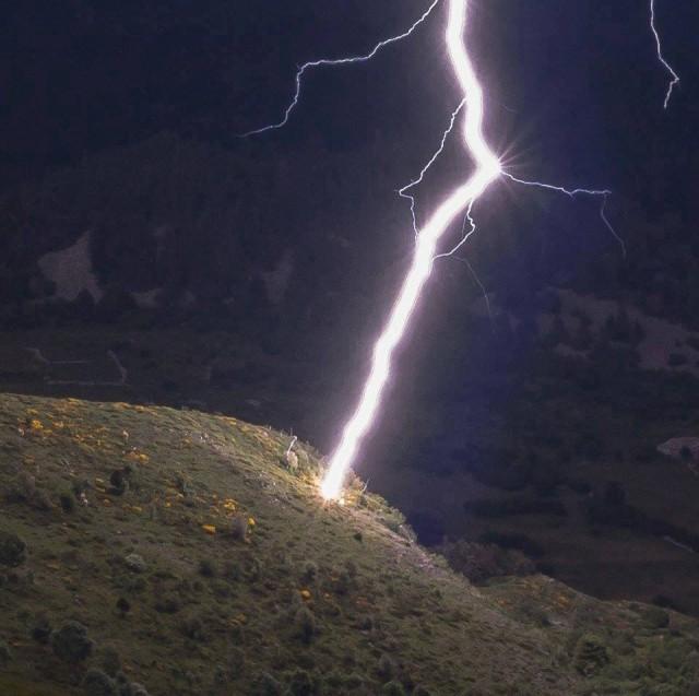 интересные фотографии шаровой молнии все