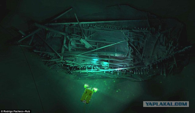 На дне Чёрного моря обнаружили более 40 древних кораблей