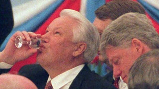 ТОП-10 пьяных выходок Бориса Ельцина.