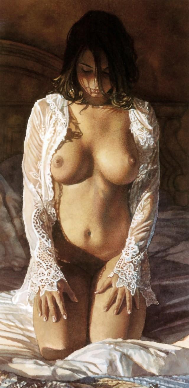 Трусы мастурбирует картины взрослых голых девушек снял жену скрытую