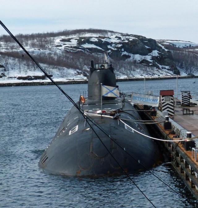 Атомные торпедные и многоцелевые подводные лодки Проект 671РТМ