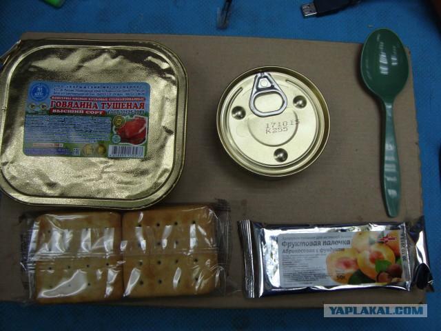 Индивидуальный рацион питания (ИРП. Вариант 2)