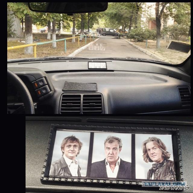 где прикрепить фото в автомобиле это прежде