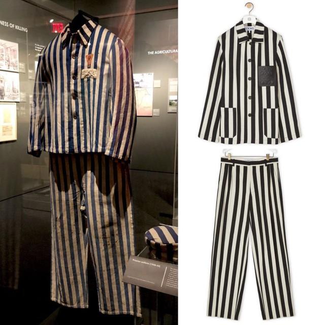 Костюм стоимостью 1840 долларов уже сняли с продажи: Бренд Loewe убрал из новой коллекции костюм, похожий на концлагерную форму