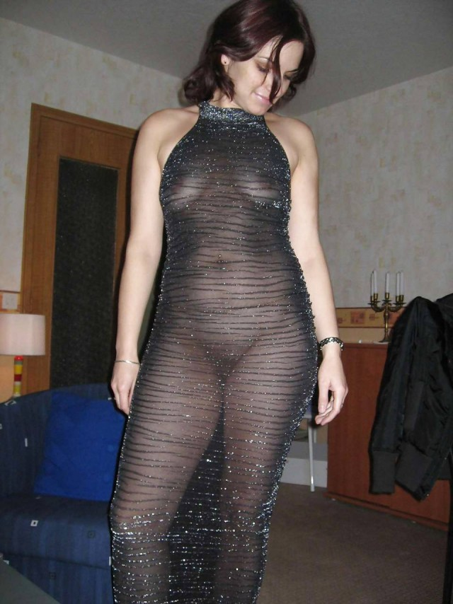 женщины в прозрачной одежде домашнее фото