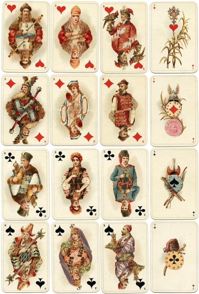 История игральных карт в картинках