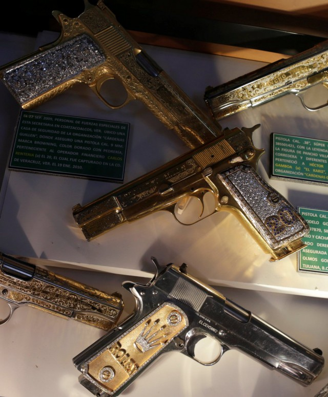 Блеск золота мексиканских наркобаронов