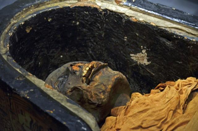 Загадка древнеегипетской мумии. Серия