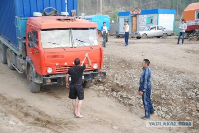 Якутия: хапсагай и страсти вокруг парома
