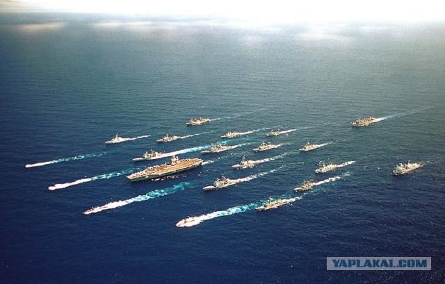 Китай посоветовал США держать свой флот и мнение при себе!