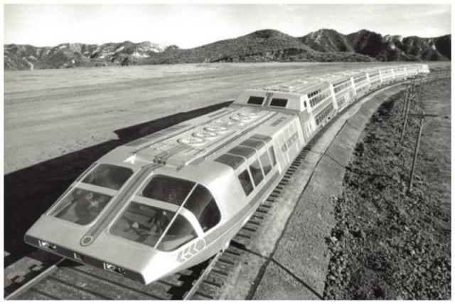 Атомный суперпоезд, 1979 (прототип)