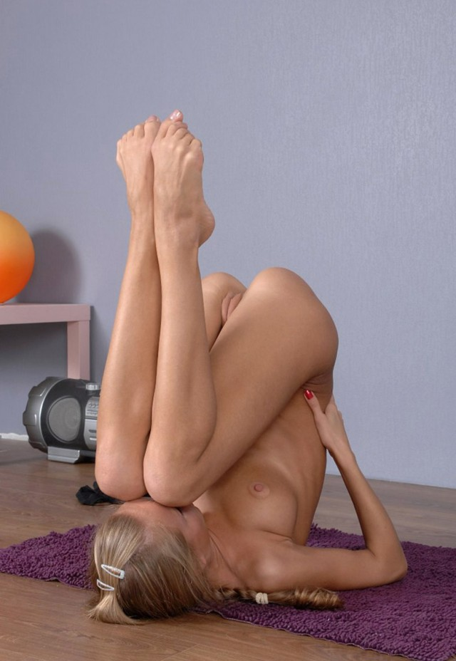 Flexible girls sexl showing bare breasts