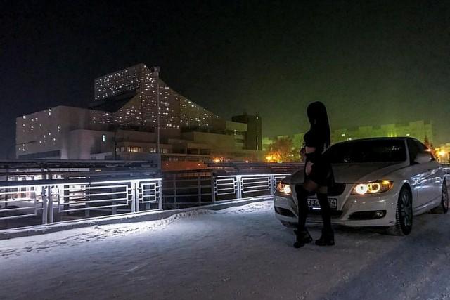 25-летнюю мажорку из Красноярска отправили на 10 суток в спецприемник