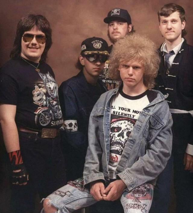 Суровые металлисты из диких 80-х