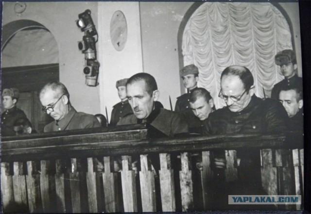 Казни военных фашистских преступников