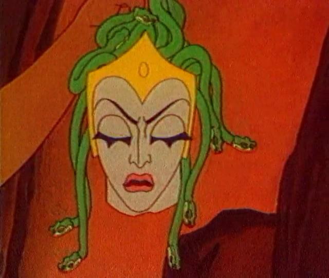 Фото медуза горгона из сказки храбрый персей