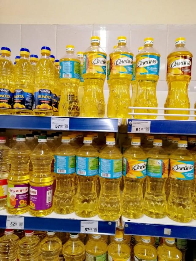Сравниваем цены на продукты Россия-Украина
