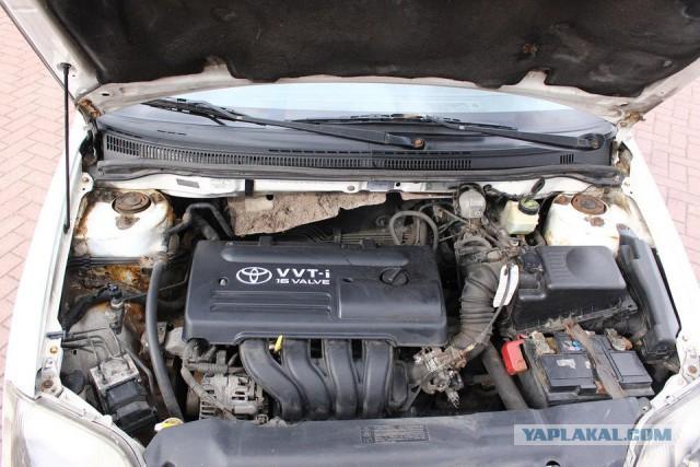 Как выглядит 16-летняя Corolla с пробегом 1 000 000 км