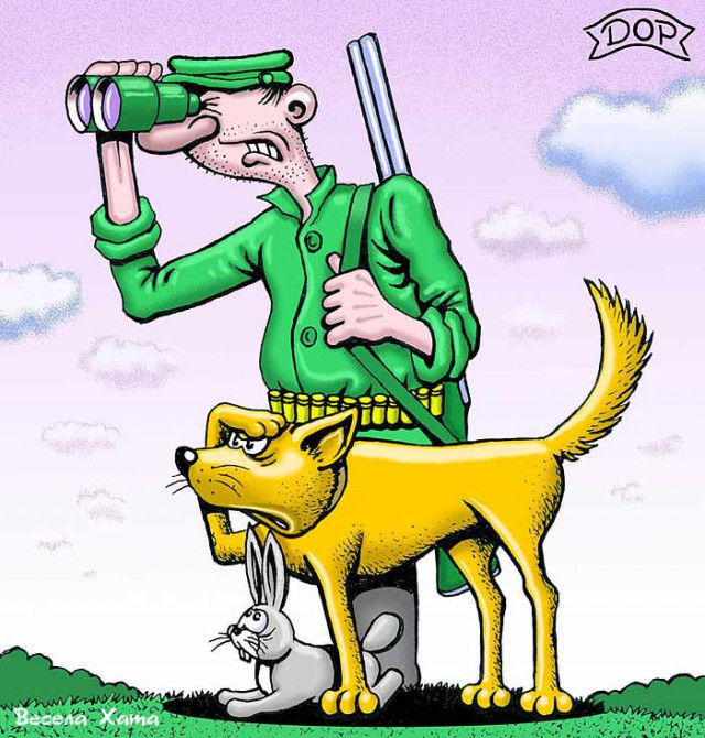 Старица, прикольные картинки охоты на зайцев нет