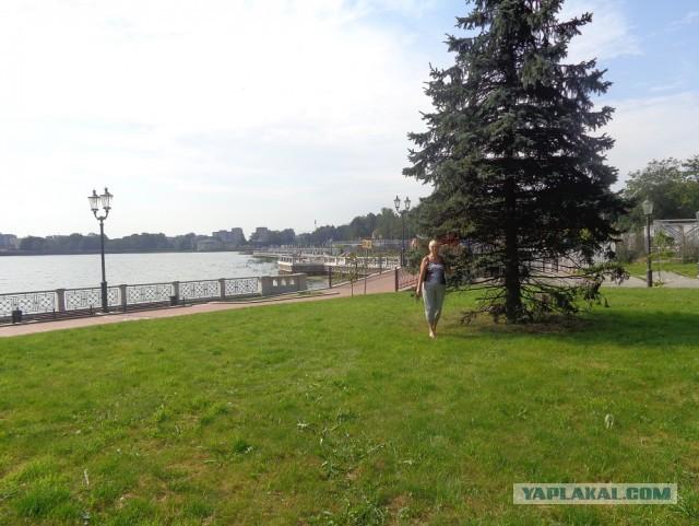 Очарованная Калининградом