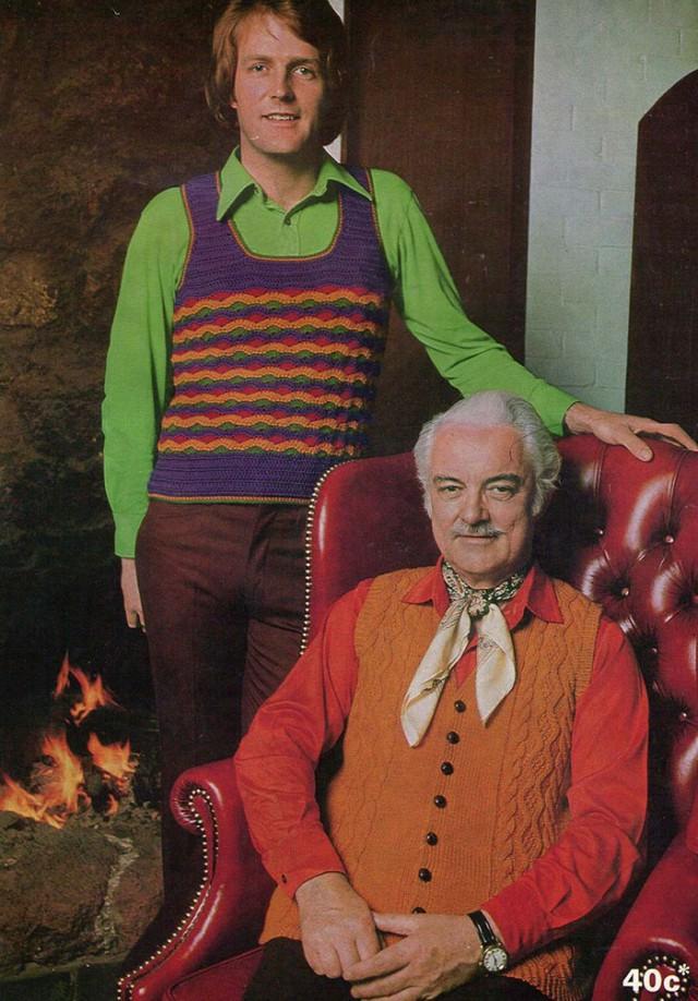 Забыть, развидеть, не смеяться... Мужская мода 70-х