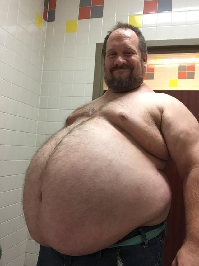 Толстой мужчины секс, фото голые попки в воде