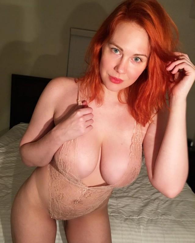 Prime Curves Sierra Skye Curvy Redhead Amateur Zoig 1