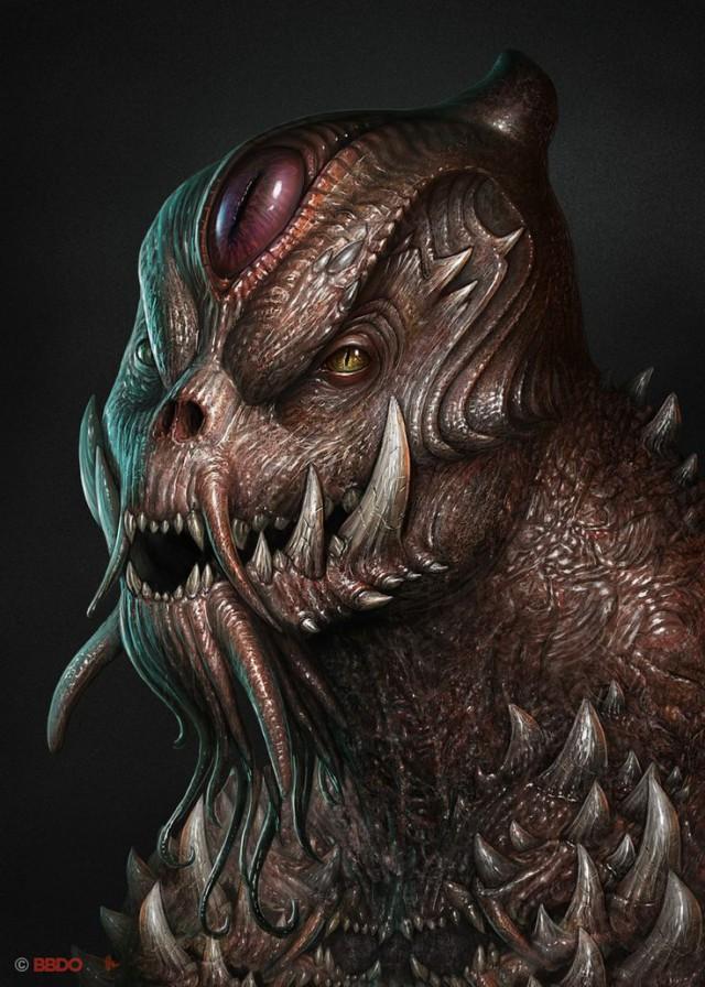 картинки монстры и чудовища услуги нанесению логотипов