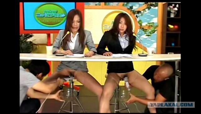 Девушек трусиках порно видео телеведущие японки