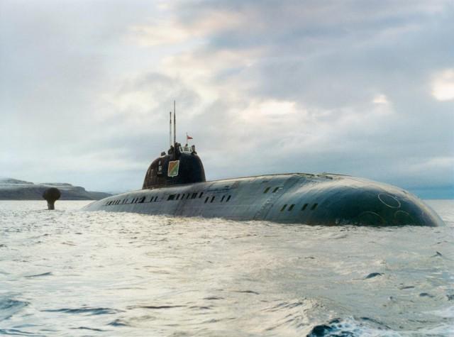 Атомная лодка проекта 671