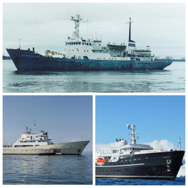 Какие советские корабли превратились в яхты для миллиардеров