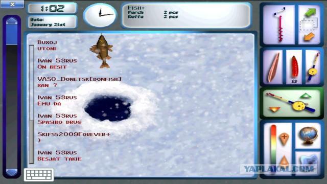 Кадр из игры Pro Pilkki 2