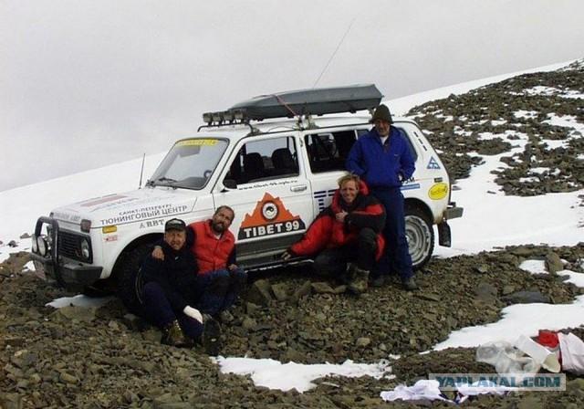 Лада Нива в Хималаите